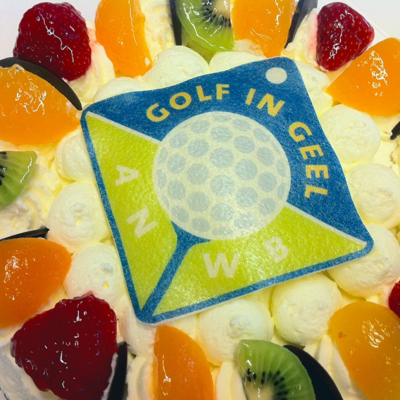 anwb-golf-logo-taart